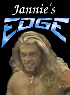 Edge! A VERY handsome man!